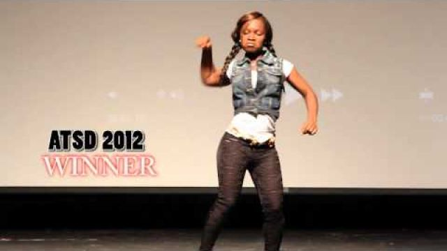The winner of the Best African Music Dancer competition 2012
