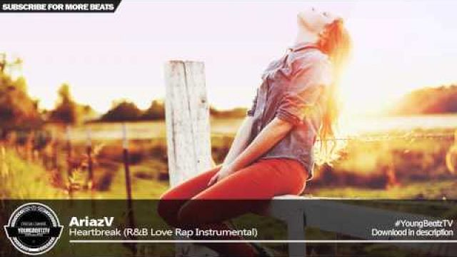 AriazV - R&B Piano Love Rap Beat Hip Hop Instrumental 2015 - 'Heartbreak'
